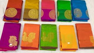 தரமான அழகிய கைத்தறி பட்டு புடவைகள் ஷாப்பிங் /Handloom Silk sarees shopping Sirumugai/Muthusamysilks
