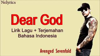 AVENGED SEVENFOLD lirik lagu DEAR GOD terjemahan bahasa indonesia
