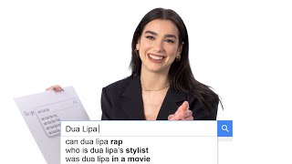 Dua Lipa Answers the Web's Most Searched Questions  WIRED