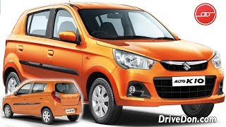 2019 Maruti Alto K10 - New Features, Price and Specifications