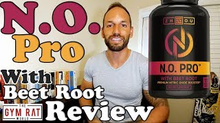 N.O. Pro With Beet Root | Zhou Nitric Oxide Booster | 2017 Supplement Review