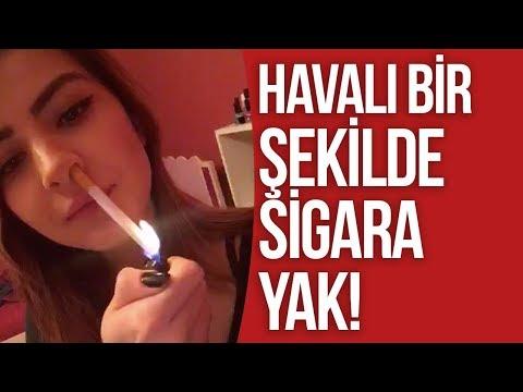 Scorp Videoları - HAVALI ŞEKİLDE SİGARA YAK !