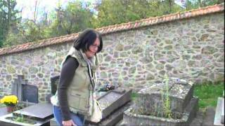 Tombe de Guillaume Depardieu au cimetière de Bougival