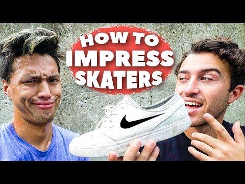 10 WAYS TO IMPRESS SKATERS!!