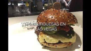 Gordon Ramsay burger kitchen | hamburguesa Gordon Ramsay en Las Vegas | Donde comer en las vegas