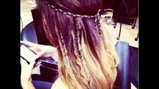 Coachella Hippie Hair Style