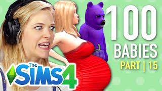 Single Girl's Son Is A Bear In The Sims 4   Part 15