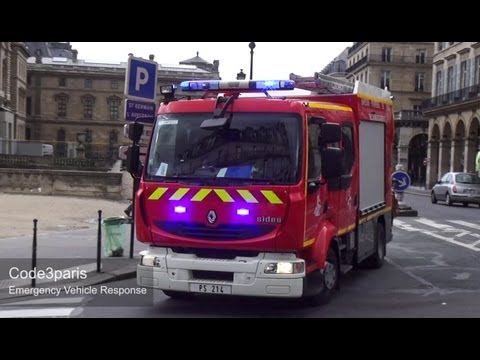 BSPP PS 214 - CS Saint Honoré // Paris Fire Brigade Rescue Pump