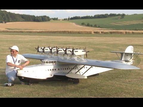 Amazing Giant Passenger Flying Boat  Dornier DO X
