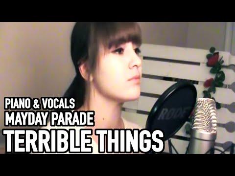 (Mikutan) Terrible Things - Mayday Parade [Piano & vocal cover]