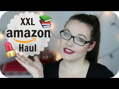 XXL AMAZON HAUL l Beauty, Serien & Bücher ♥
