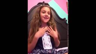 11 year old girl singing flashlight karaoke