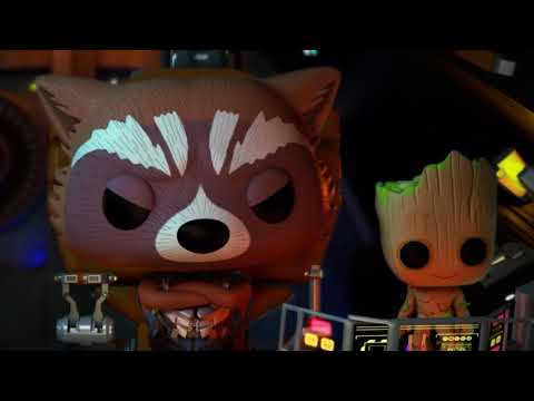 Baby Groot Becomes a Pilot!   Marvel Funko Presents!   Collector Corps