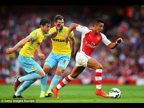 Arsenal vs Crystal Palace 2-1 2014 - English Premier League Week 1