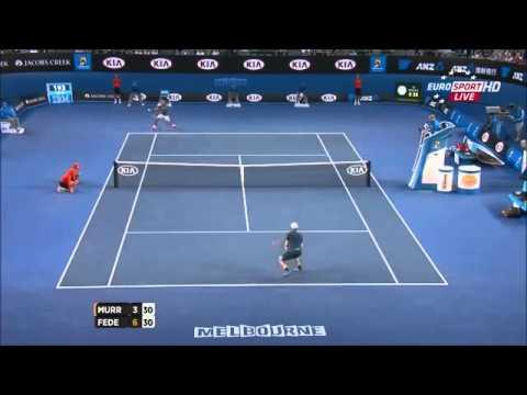Roger federer vs Andy Murray Australian open 2014