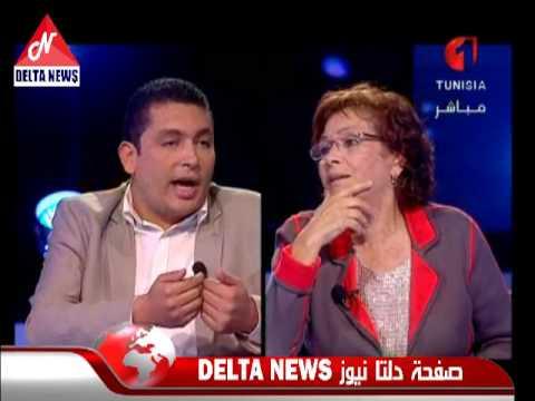 image vid�o إياد الدهماني يتهم سهام بن سدرين بإزدواجية الخطاب