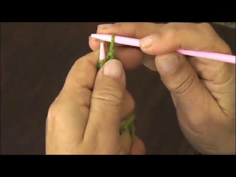 Dos agujas: cómo montar los puntos
