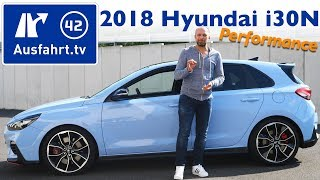 2018 Hyundai i30N 2.0 T-GDI Performance - Kaufberatung, Test, Review