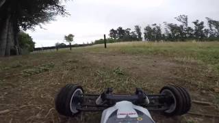 Helion Criterion RC buggy test drive(Crash)