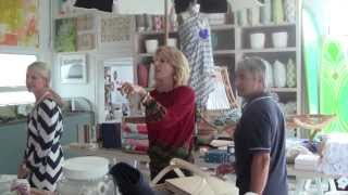 Stylish Shopping with Susanna Salk at Serena & Lily Beach Market
