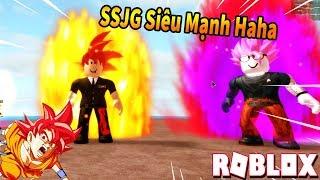 Roblox - Mình Đã Trở Thành SSJG, Super Saiyan God - Đại Chiến Saiyan Cùng AE - Dragon Ball X