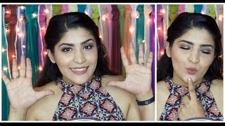 Top 10 Nude Lipsticks in India For all Skintones | Under Rs 1000 | Lip swatches