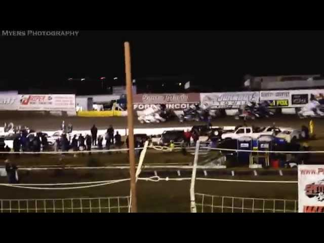 King of the West - Santa Maria Speedway - 9/12/2014