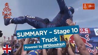 Summary - Truck - Stage 10 (Pisco / Lima) - Dakar 2019
