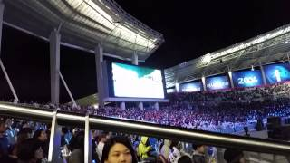 Asian games closing Ceremony at South Korea