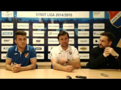 Tisková konference FC Baník Ostrava utkáním se Zbrojovkou Brno