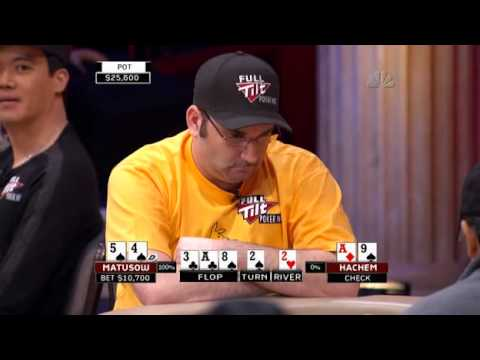 National Heads-Up Poker Championship 2008 Episode 1 1/9