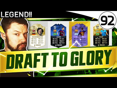 LEGEND!! FUT DRAFT TO GLORY #92 - FIFA 16 Ultimate Team Gameplay