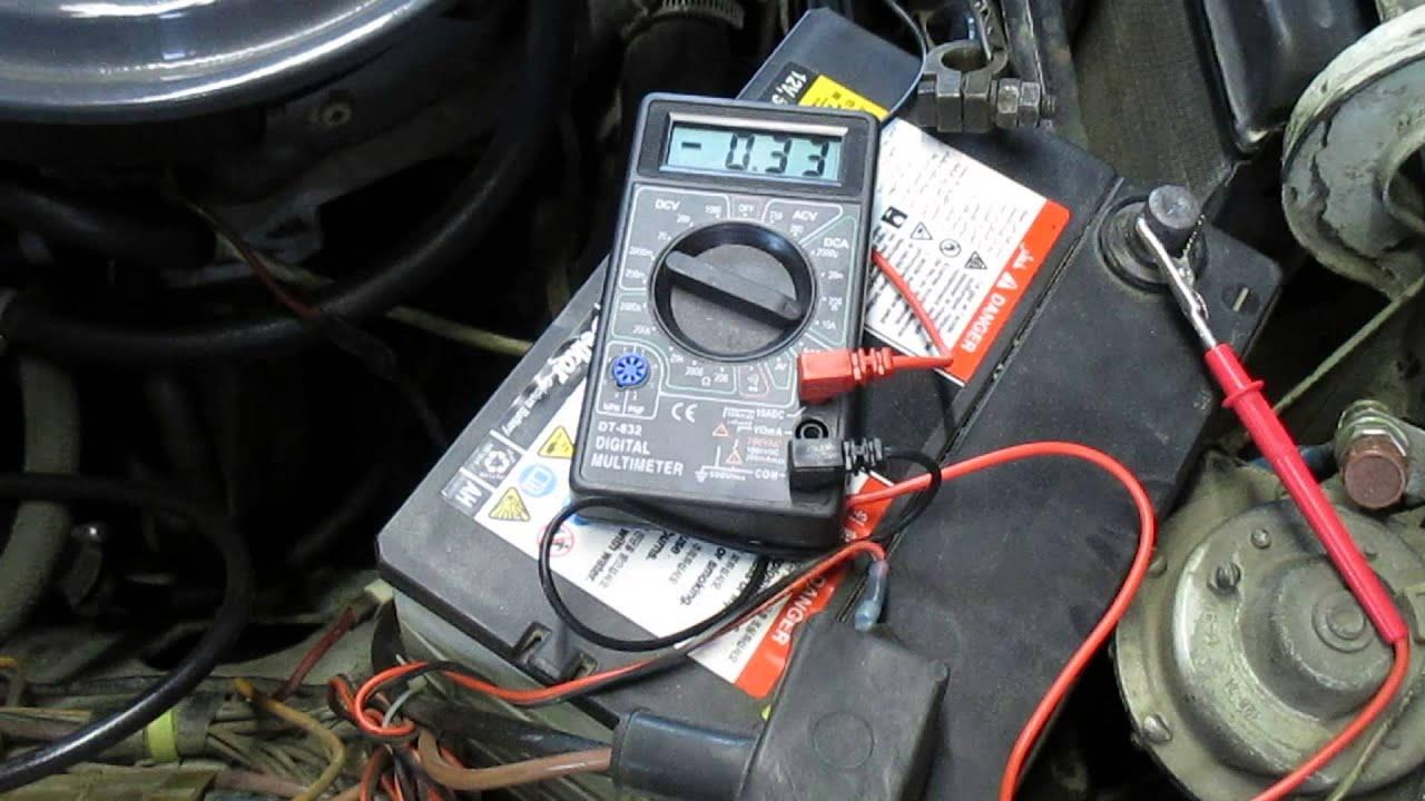 Как в машине найти что сажает аккумулятор 19