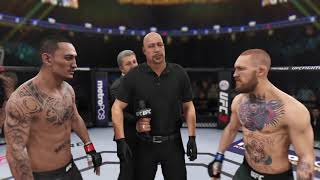 Max Holloway vs Conor McGregor World Featherweight Championship