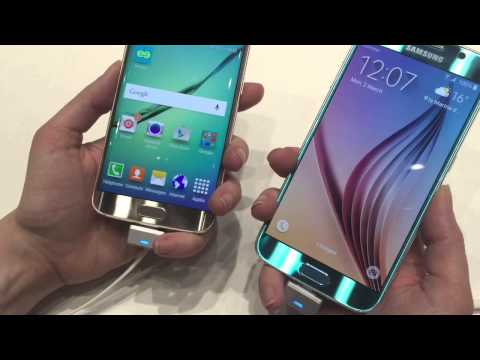 Samsung Galaxy S6 and S6 EDGE at MWC 2015