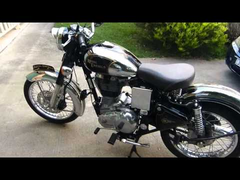 Royal Enfield Classic Chrome Modified Royal Enfield c5 Classic