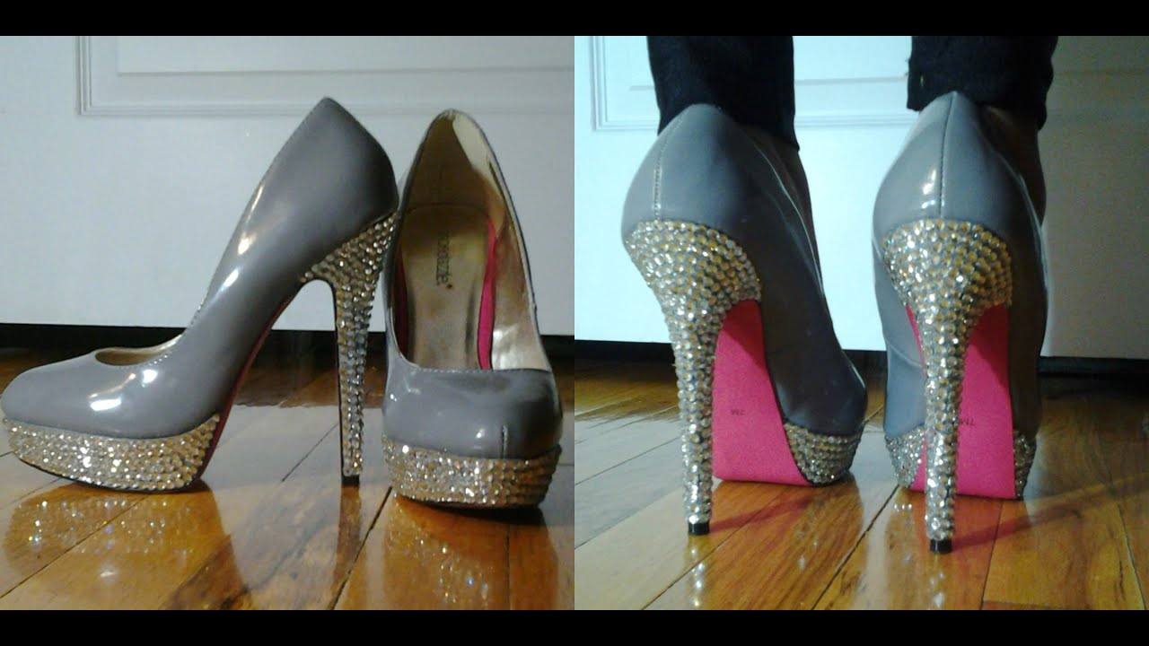 Diy Bling Wedding Shoes Bling Your Shoes ✿ Diy