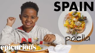 Kids Try Rice Dishes From Around The World   Bon Appétit