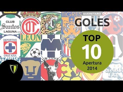 Top 10 Goles Apertura 2014