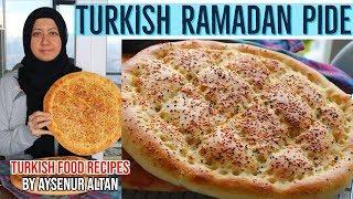 Traditional Turkish Ramadan Pide By Aysenur Altan