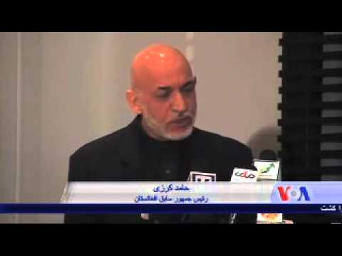 Former Pres. Karzai & CEO Abdullah welcome talks vs Taliban-VOA Ashna