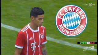 James Rodriguez ● First Match for Bayern Munich + Interview ● 1080i HD #JamesRodriguez #BayernMunich