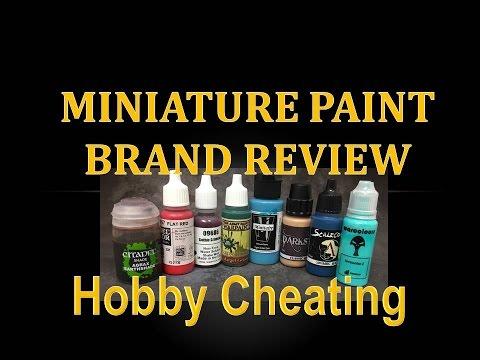 Hobby Cheating 80 - Miniature Paint Brand Guide
