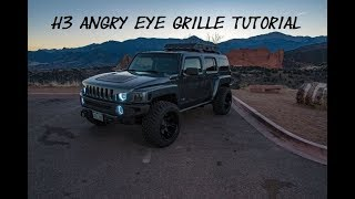 H3 Angry Eye Grille: Part 1
