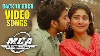 MCA Full Video Songs Back To Back - Nani, Sai Pallavi | Devi Sri Prasad