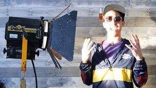 Tarantino's Favorite Film Lights! - The Aputure 300D KILLER!