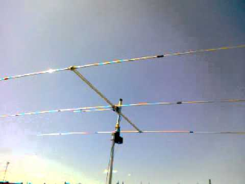 Sirio SY/3 Element Beam yagi. Masterrotor AR-303