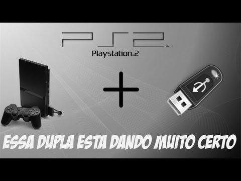 Tutorial - Como Rodar Jogos De PS2 Através De Um Pendrive.