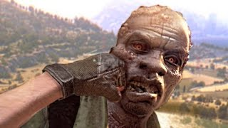 KNOCKING OUT ZOMBIES! (Dying Light The Following)