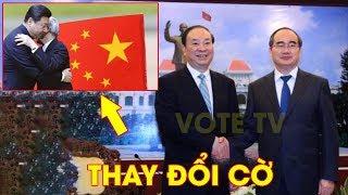 Dấu hiệu bất thường nơi cờ Trung Quốc, Nguyễn Thiện Nhân bắ.t é-p khách sạn che cờ Việt Nam #VoteTv